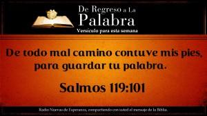 regreso a la palabra, Salmos 119 Gd